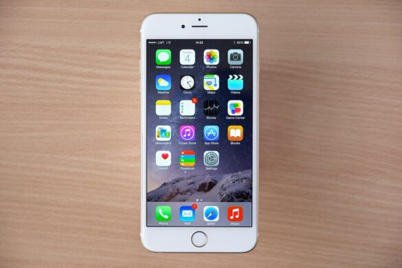Image of an iPhone 6.